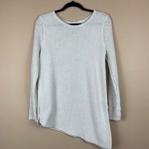 • Apt 9 • Asymmetrical Hem Knit Sweater